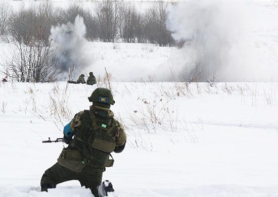 Первые миротворческие российско-белорусские учения: боевики уничтожены