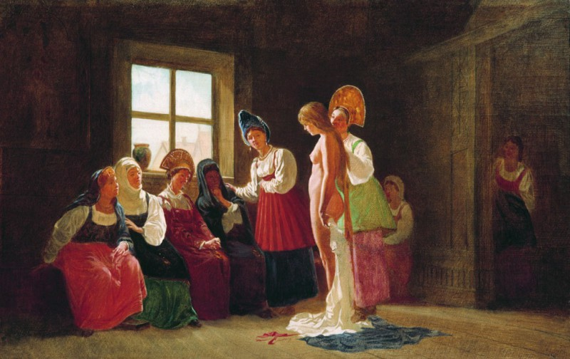 Тощих в жены не брать и другие правила семейной жизни на Руси