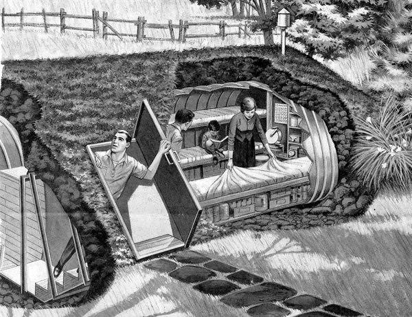 Убежище на даче: как построи…