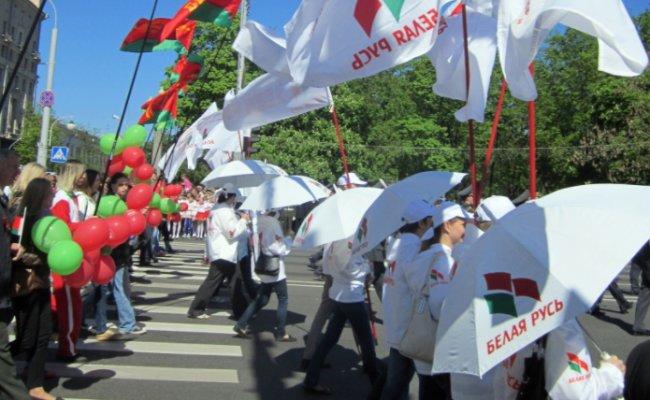 Провластная «Белая Русь» собралась провести митинг за Лукашенко Политика