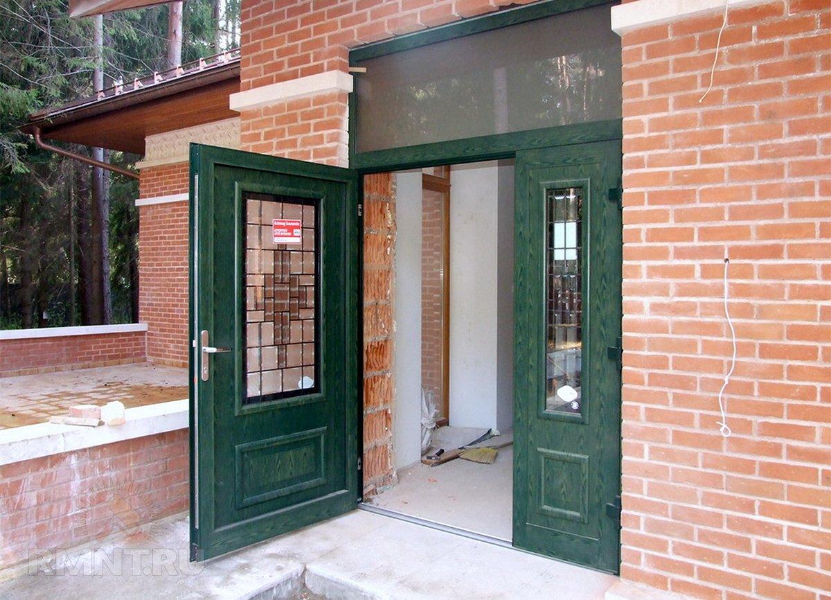 Двустворчатые двери: плюсы, минусы, фотопримеры идеи для дома,интерьер и дизайн