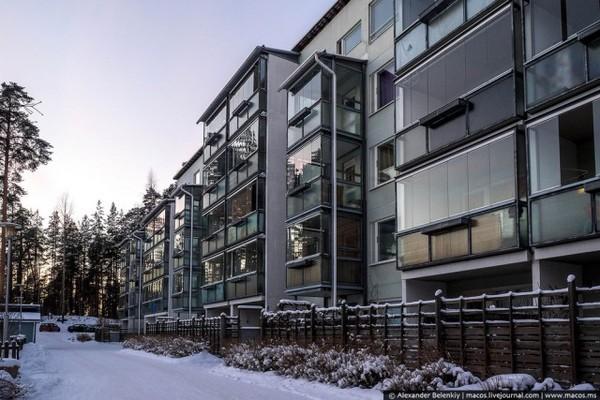 Как выглядят финские пятиэтажки