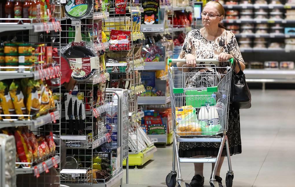Средний чек россиян в июле упал на 1,8% из-за сезонных товаров