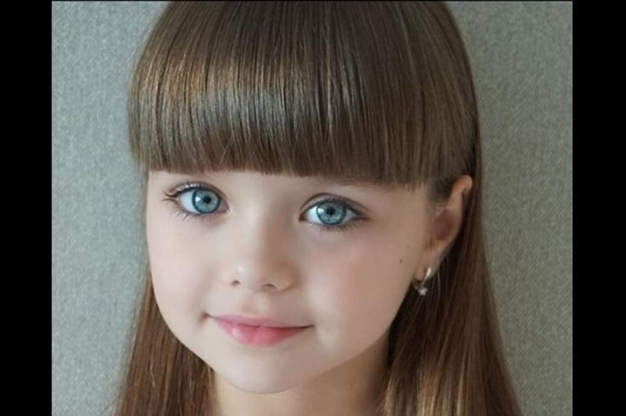 Самая красивая девочка в мире - русская