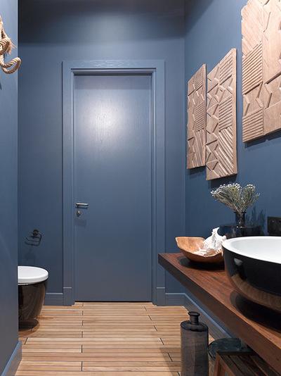Современный Ванная комната by Студия Enjoy Home