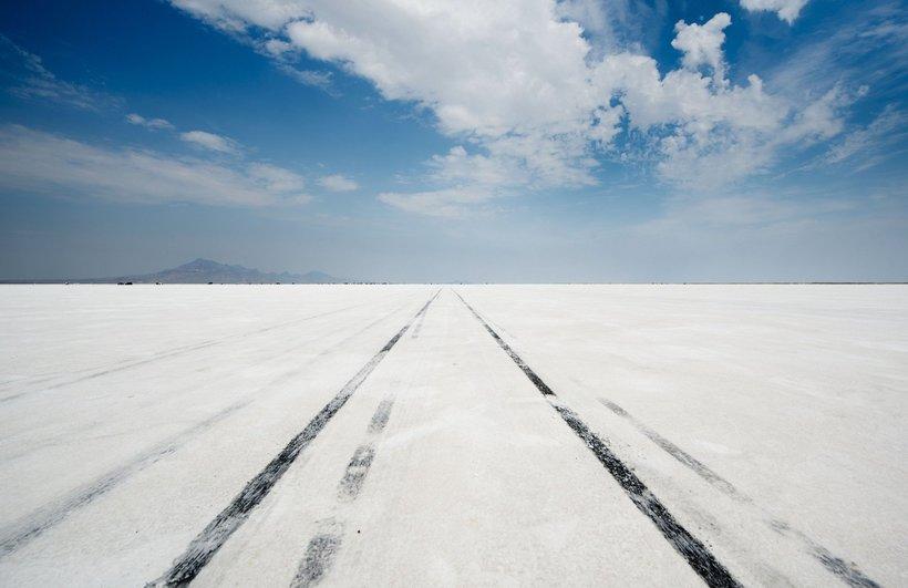 Озеро Бонневилль: невероятное место запредельных скоростных рекордов
