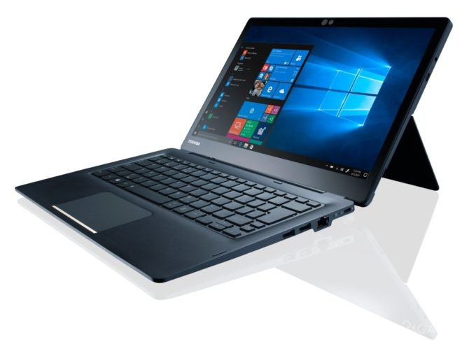 Toshiba выпустила бизнес-планшет Portege X30Т со сменной клавиатурой