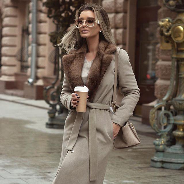 Как выглядеть стильно в холода — 10 модных образов осени 2018