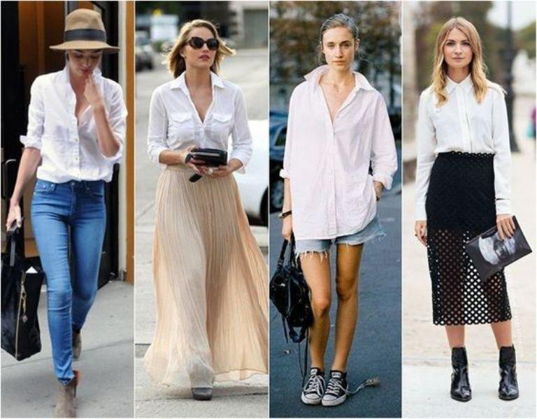 Белая рубашка в мире моды. Вечная и универсальная классика