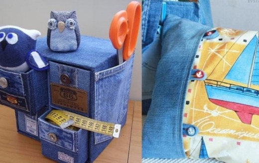 Что ещё можно сделать из старых джинсов?