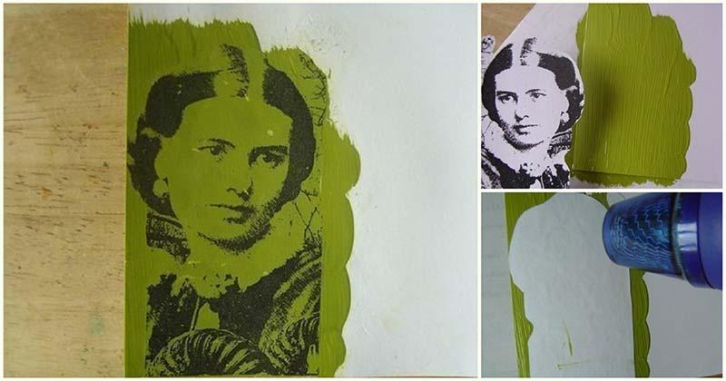 Простой способ, как перенести изображение на любую поверхность с помощью краски