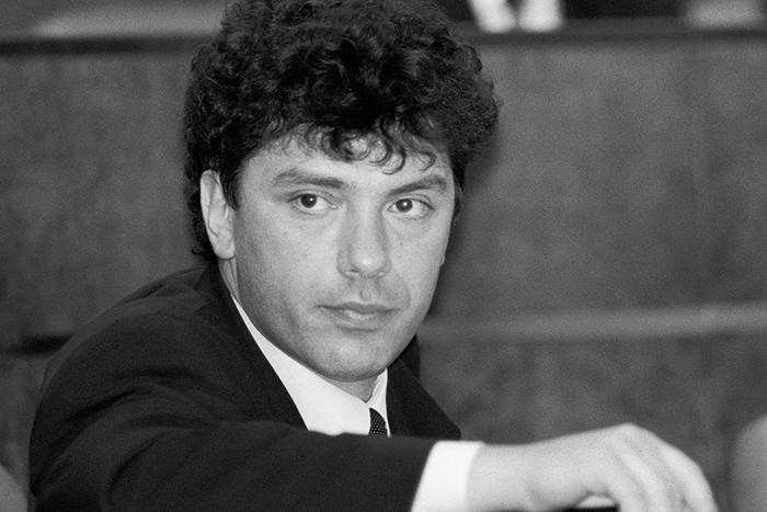 Что говорил Немцов в 90-х годах. Любопытное видео