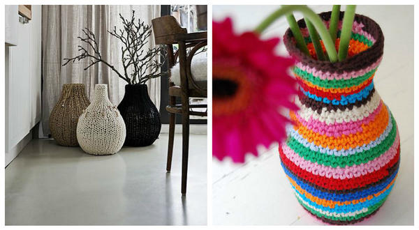 Чехлы на вазы