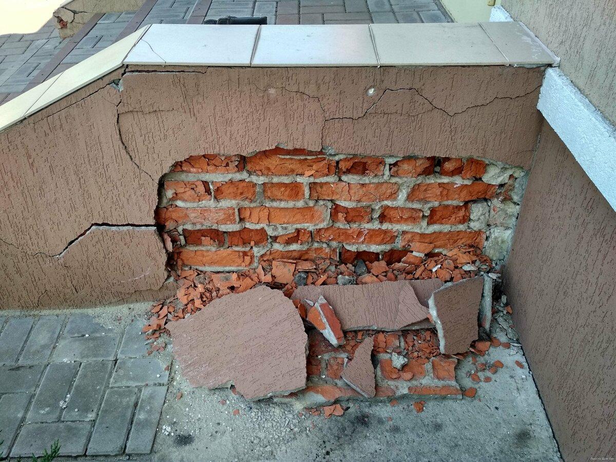 Когда крыльцо неотвратимо разрушает дом советы