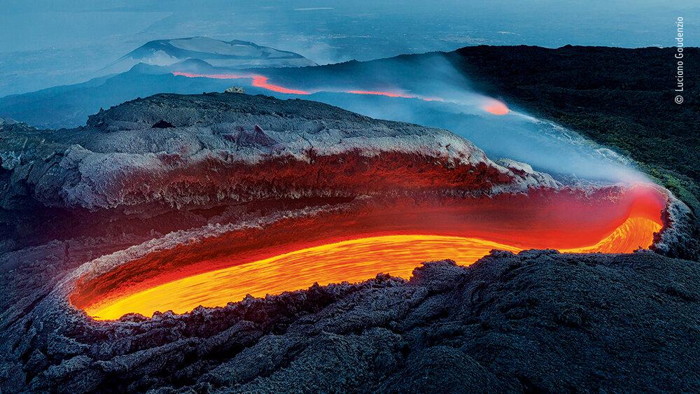 «Огненная река Этны» Лучано Гауденцио (Италия)