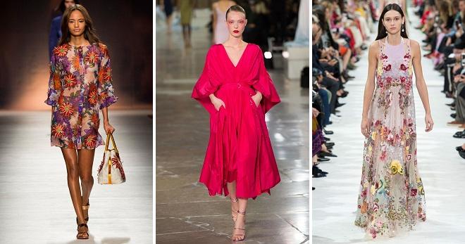 Повседневные платья на лето 2018 – фасоны и модели для любого типа фигуры