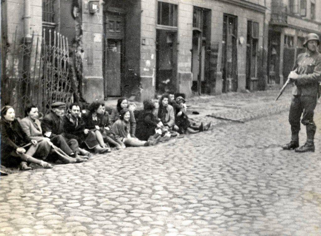 билет польское гетто фото труба