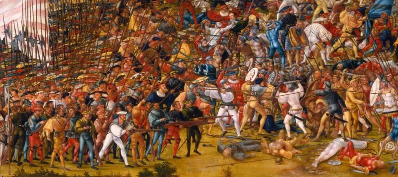 Рондаши в боях, парадах и на стенах  оружие
