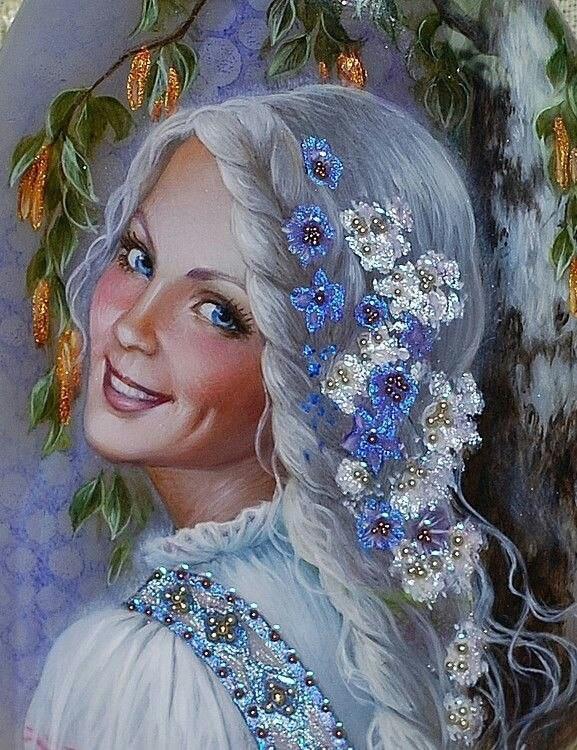 Картины на камне Беловодовой…
