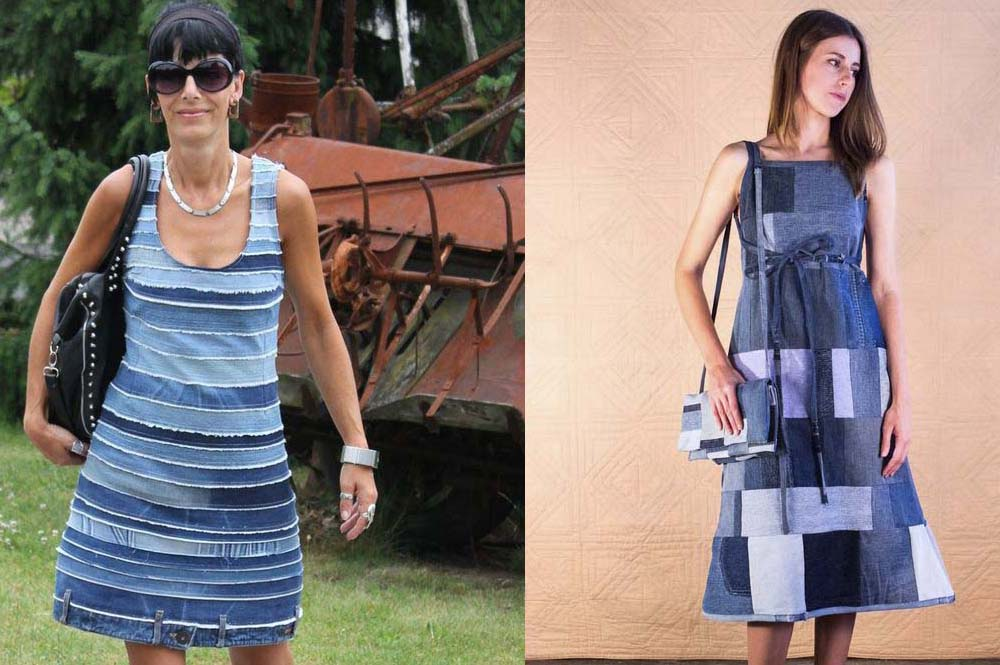 как можно переделать сарафан в платье фото это один самых