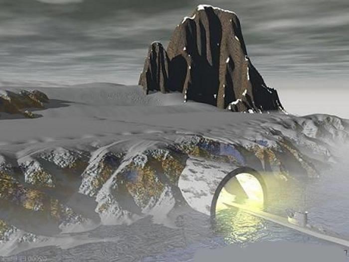 Ледяной панцирь Антарктиды скрывает огромные города древней цивилизации