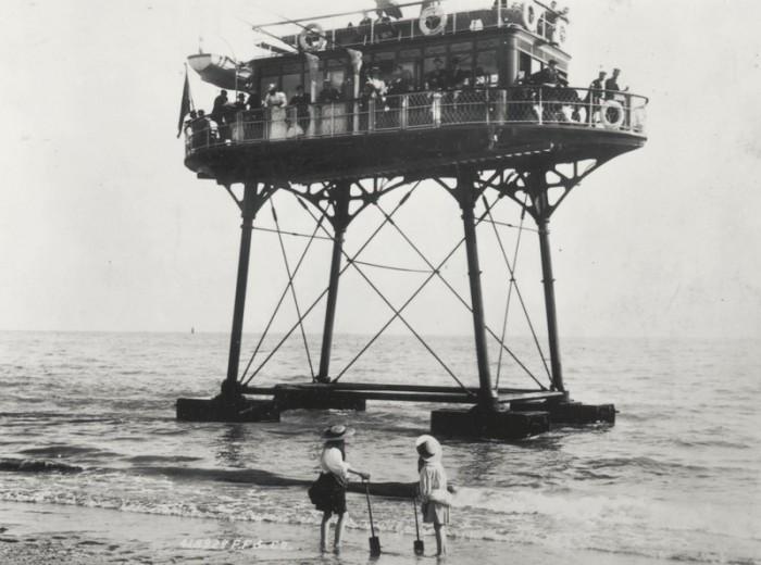 Подводно-рельсовая «косиножка» инженера Магнуса Фолька