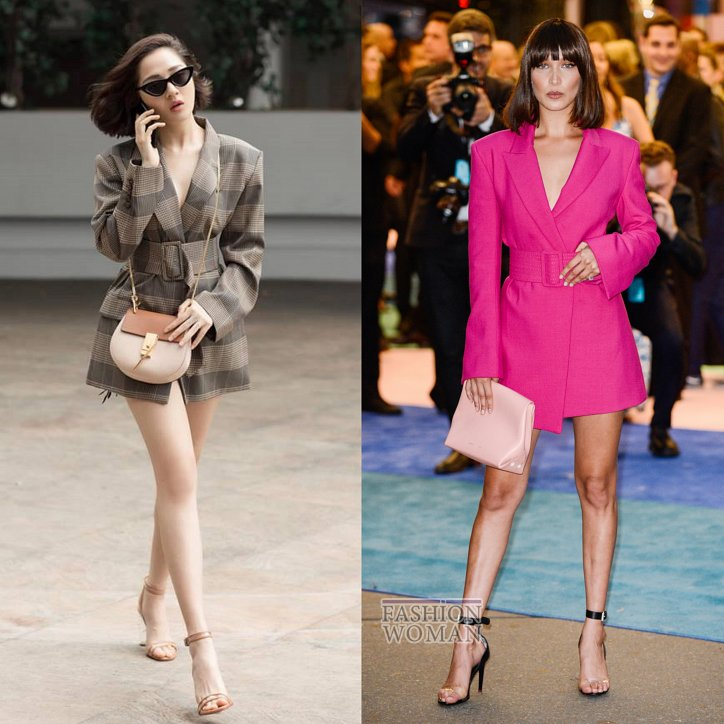 Платье-пиджак: кому идет и с чем носить дизайнеры,мода,мода и красота,модные тенденции