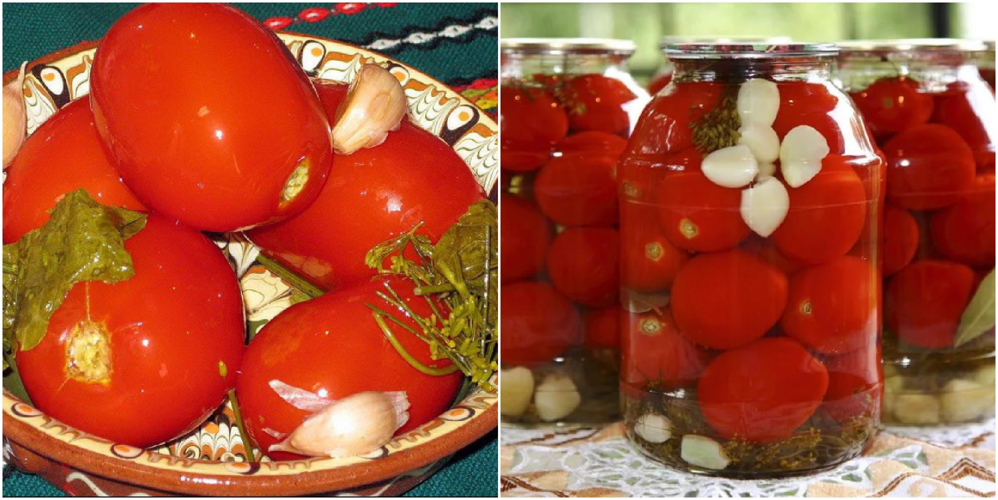 Лучший рецепт квашеных помидоров
