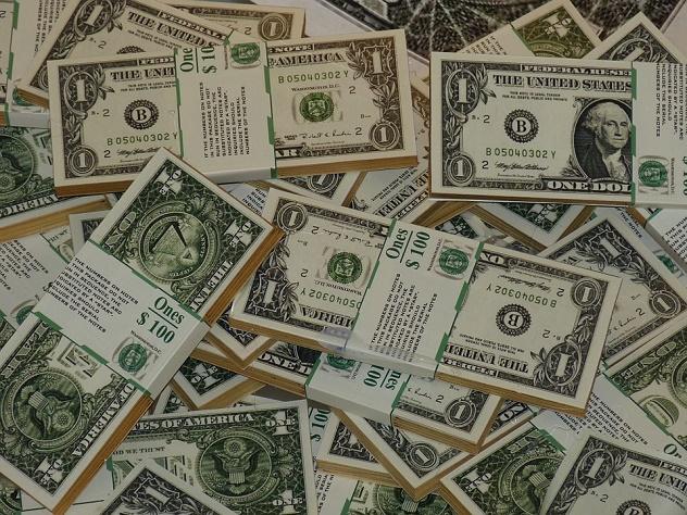 РФ увеличила вложения в казначейские обязательства США
