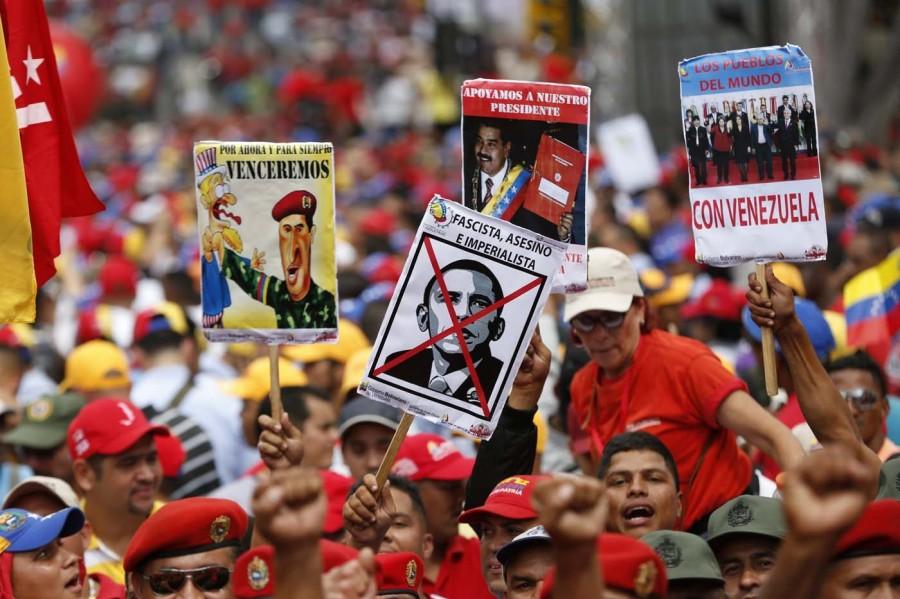 США пытаются погрузить Венесуэлу в гражданскую войну