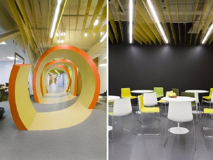 Офис для интернет-компании «Яндекс» в Санкт-Петербурге (Россия). | Фото: 24gadget.ru.