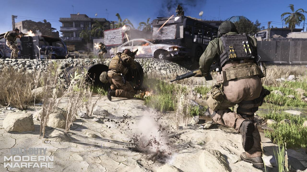 Свежачок из LA: Впечатления от игры в Call of Duty: Modern Warfare action,call of duty: modern warfare,Игры,обзоры,Шутеры