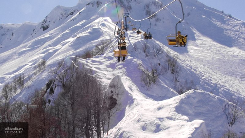 Новосибирские горнолыжники застряли в Кемеровской области из-за сильного снегопада