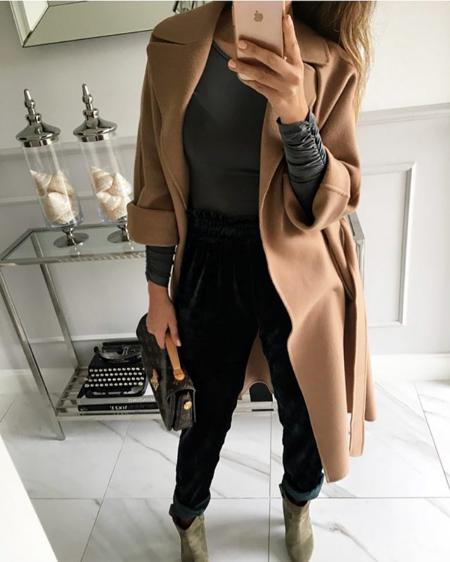 Уличный стиль осени 2018- самые актуальные образы от модных блогеров