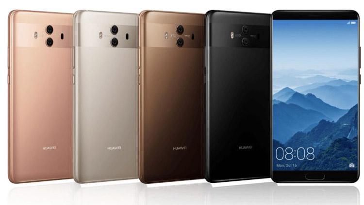 Анонсированы флагманские планшетофоны Huawei Mate 10, Mate 10 Pro и Porsche Design Huawei Mate 10
