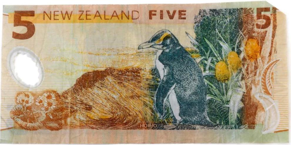 Новозеландские пять долларов