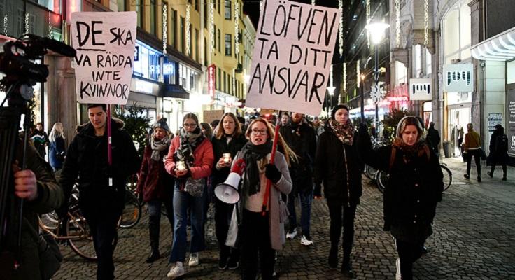 Изнасилования школьниц в Швеции спровоцировали уличный протест