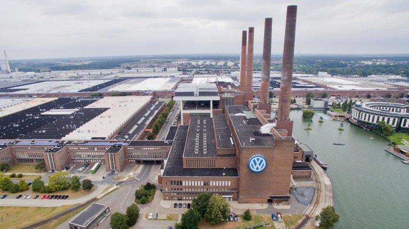 4. Завод Volkswagen в Вольфсбурге (Германия) Haval, bmw, general motors, автозавод, автомобиль, китай