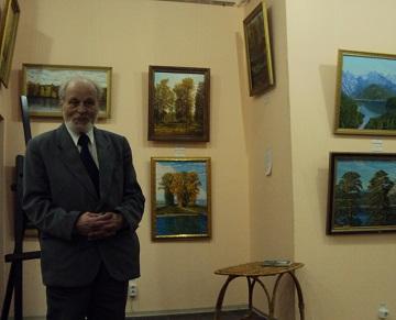 Выставка пучежского художника Николая Караваннова «Поэзия времён года»