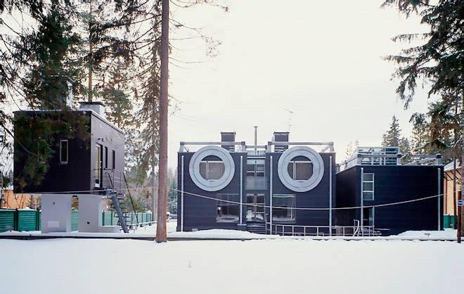 ТОП-9 необычных жилых домов Подмосковья.