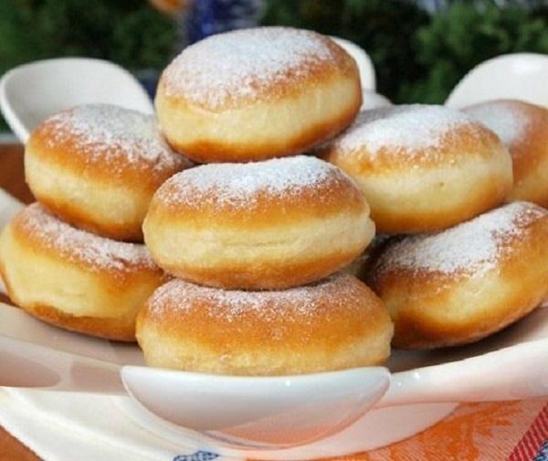 «Нежнейшие» пончики к семейному чаепитию