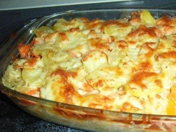 Картофельная запеканка с сыр…