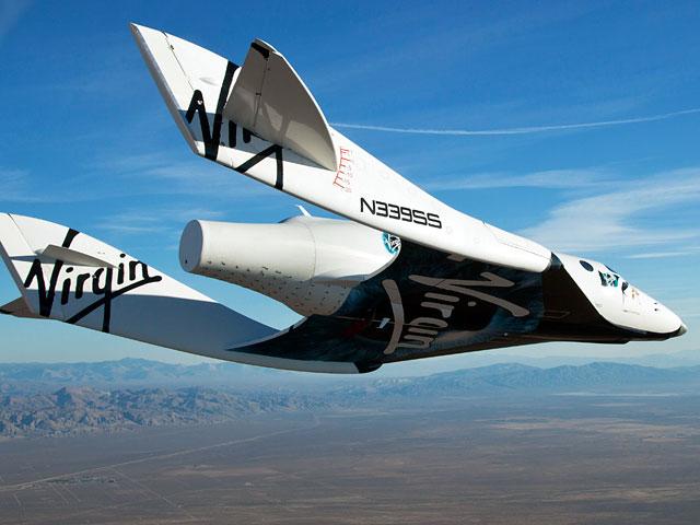 В США разбился туристический космический корабль SpaceShipTwo