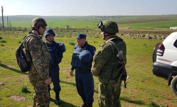 Армянские саперы приступили …