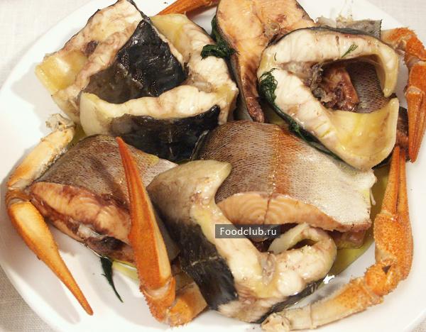 Ботвинья с рыбой и раками (этап 5)