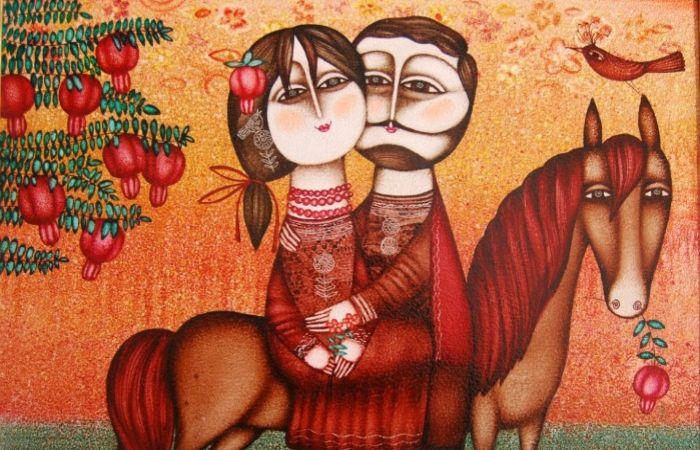 Армянские мотивы в душевных картинах грузинского художника