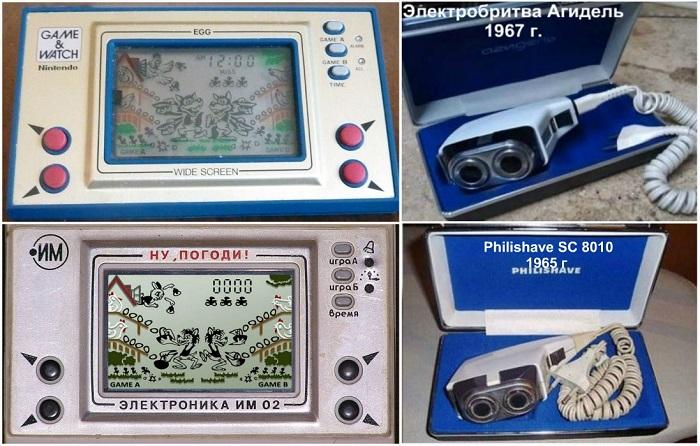 Бытовые приборы и технологии времен СССР, дизайн которых был подсмотрен за границей