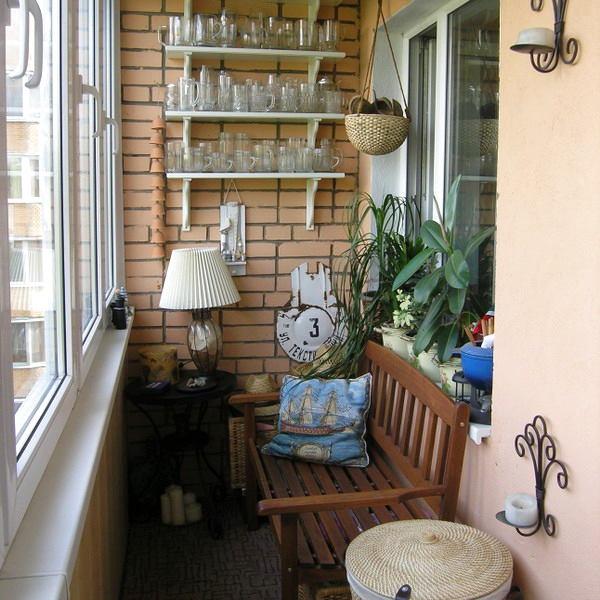 Балкон, веранда, патио в цветах: серый, светло-серый, белый, коричневый, бежевый. Балкон, веранда, патио в стиле английские стили.