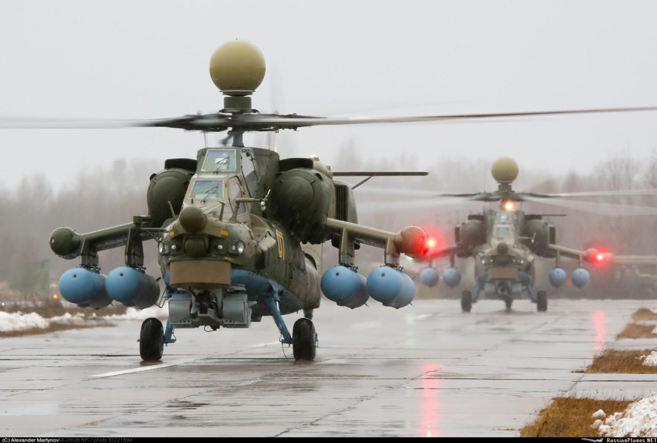 Первые два вертолета Ми-28УБ прибыли в Торжок