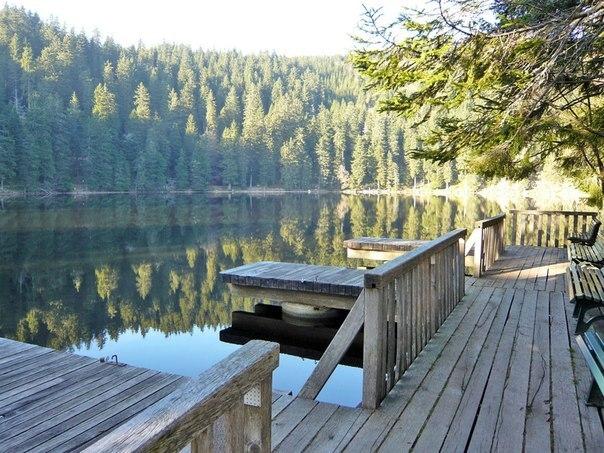 Mummelsee - сказочное озеро в Германии